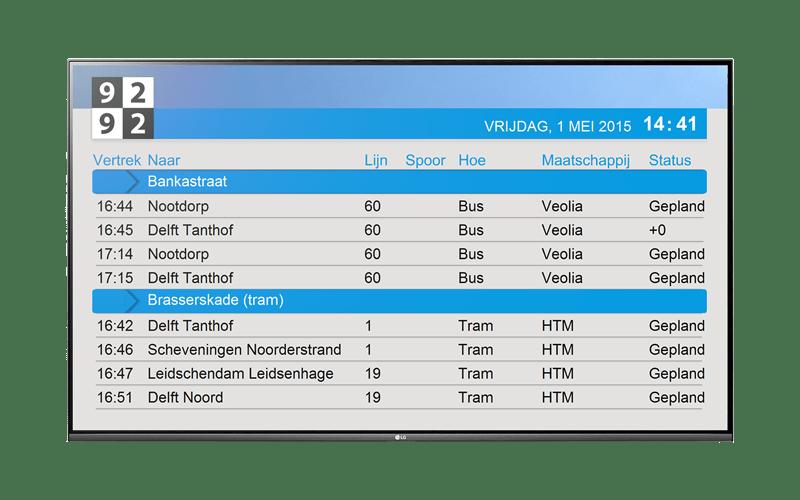 TIC narrowcasting